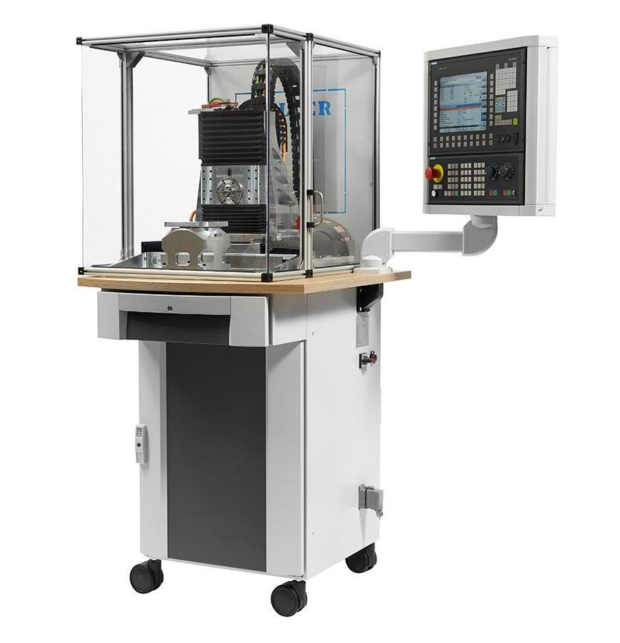 Logo Machine tools for educational purpose - CNC ProfiTrainer