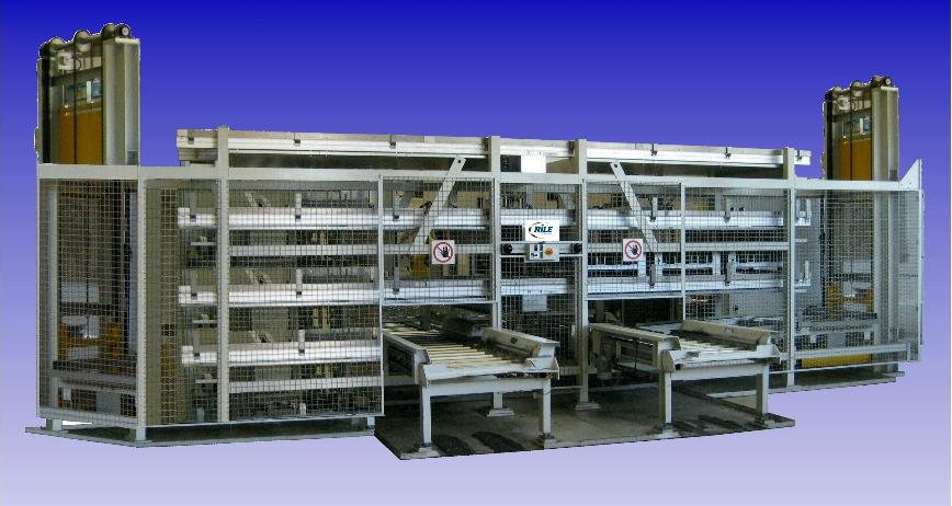 Logo Other handling, loading and sorting equipment - Tiered Pallet Storage