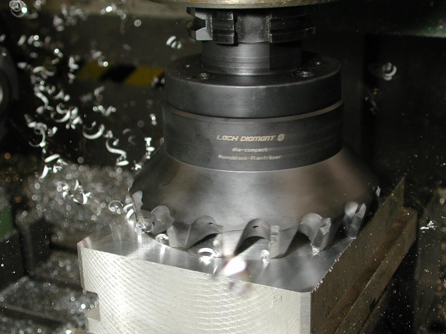 Logo Surface milling tool - PCD monoblock milling cutters