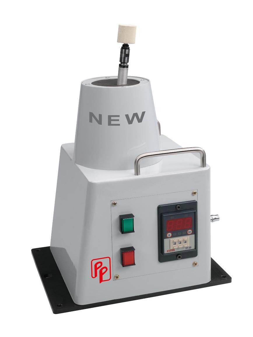 Logo Polishing machine, abrasive belt - Precision Spindle Polishing Machine