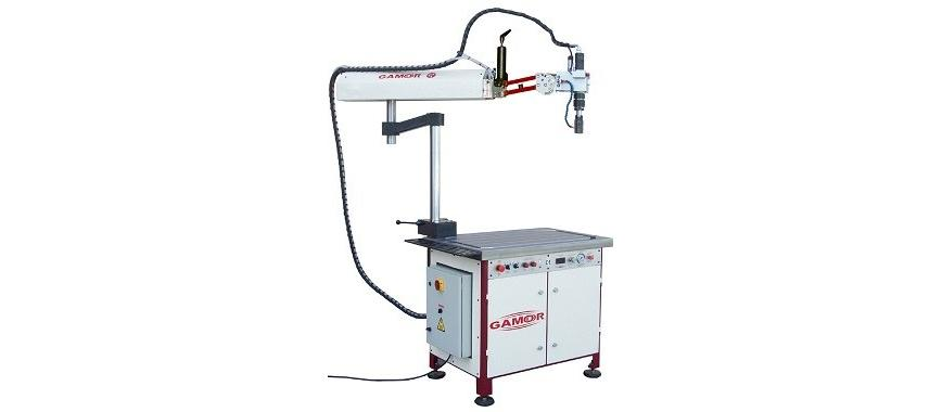 Logo Screwing and threading machine - Hydraulic tapping machine