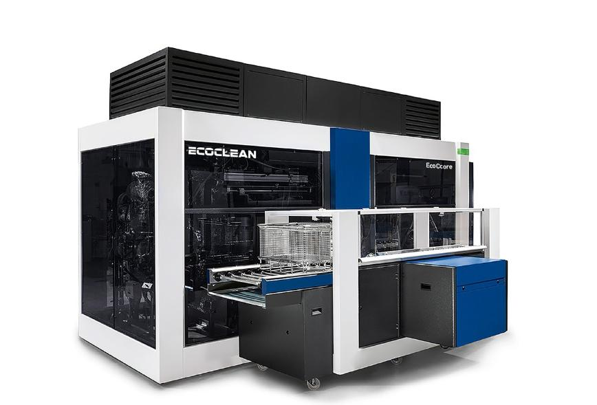 Logo Washing, cleaning and degreasing machine - EcoCcore – A new dimension