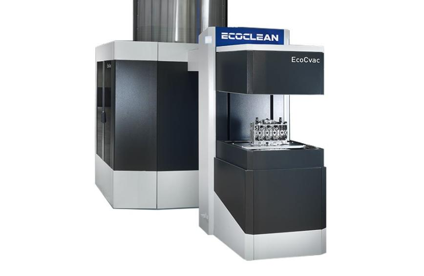Logo Washing, cleaning and degreasing machine - EcoCvac – Fast pre- and int
