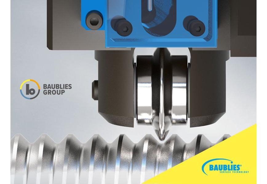 Logo deep rolling - Single-roller tool for deep rolling of dynamically stre