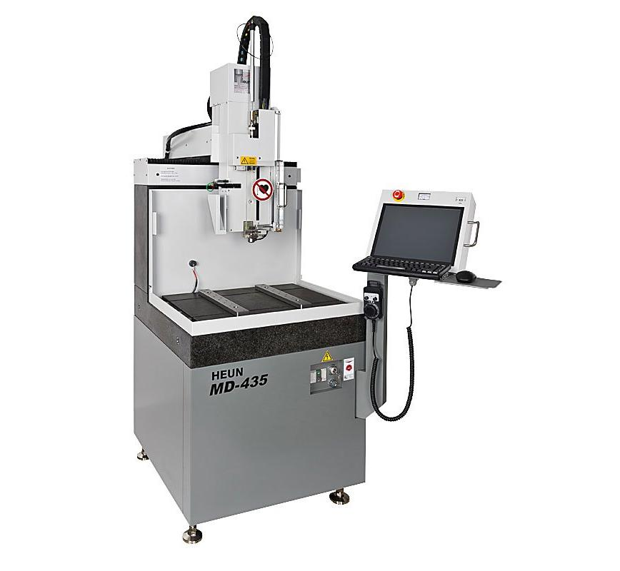 Logo Mikro-Erodier-Maschine - MD-435 CNC - Erodierbohrmaschine Micro Drill