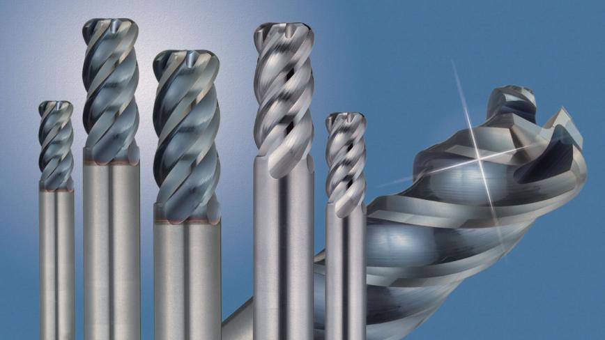 Logo Radius endmill for exotic alloys  - SSEH Anti-Vibration Type