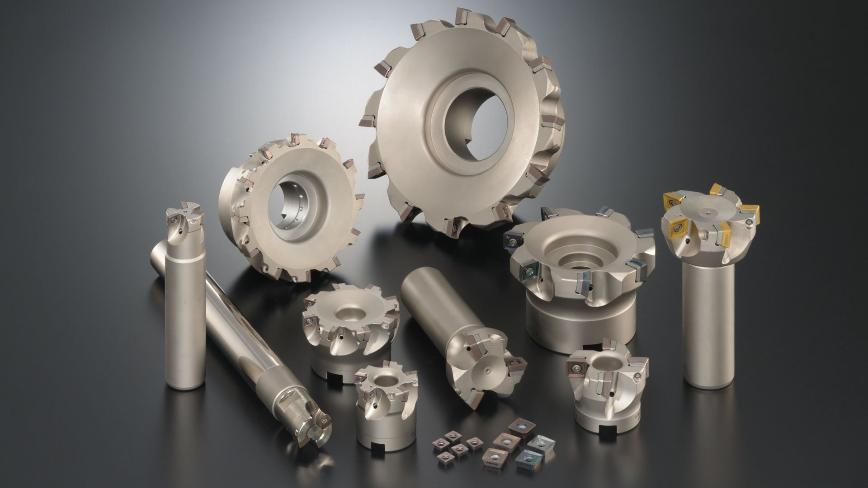Logo Shoulder, high feed and chamfer milling - WFX Milling cutters