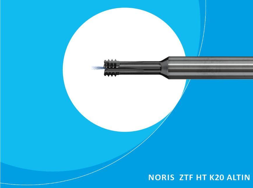 Logo Gewindefräser - NORIS ZTF HT K20 ALTIN