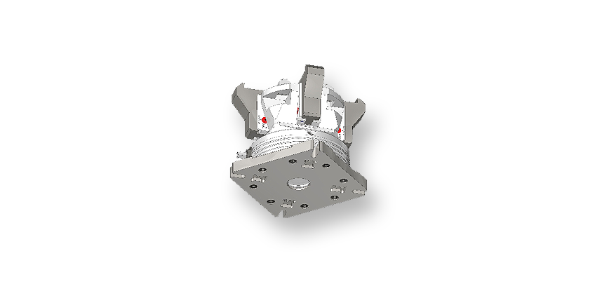 Logo Chucking system - 4-sided clamping vise QUADROK plus