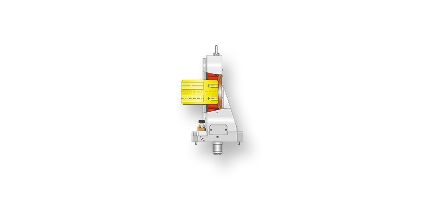 Logo Drehfutter, mechanisch - Horizontaler Spannstock