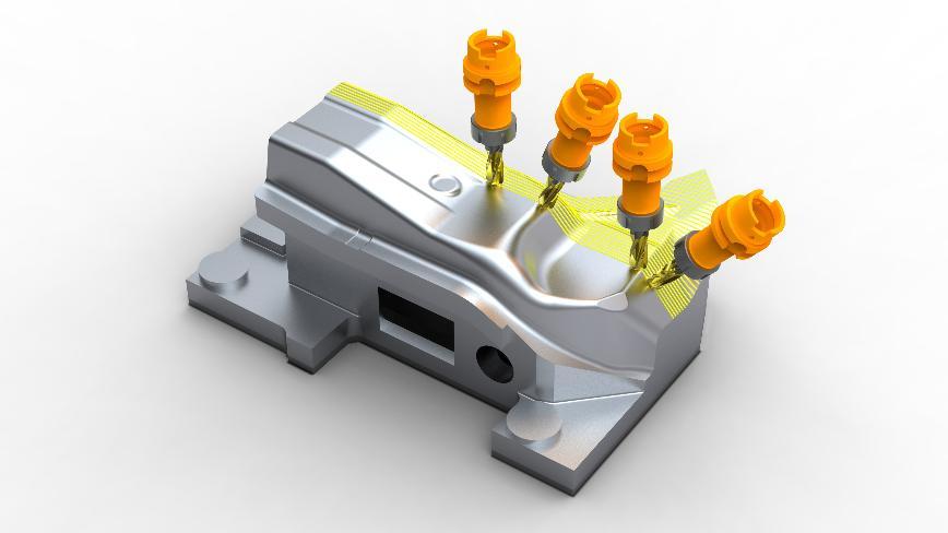 Logo  - WorkNC - CAD/CAM für den Werkzeug und Formenbau