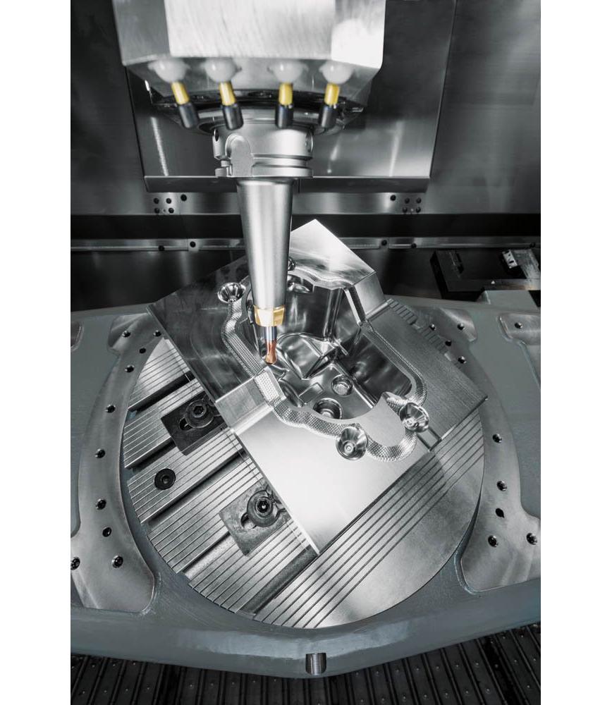 Logo 2- bis 5-Achsen-Bearbeitung im Werkzeug-, Modell- & Formenbau - WorkNC