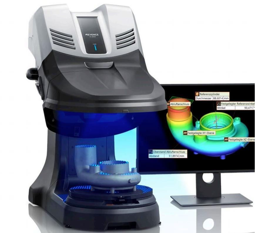 Logo Coordinate and multiple coordinate inspection machine - Optisches 3D-K