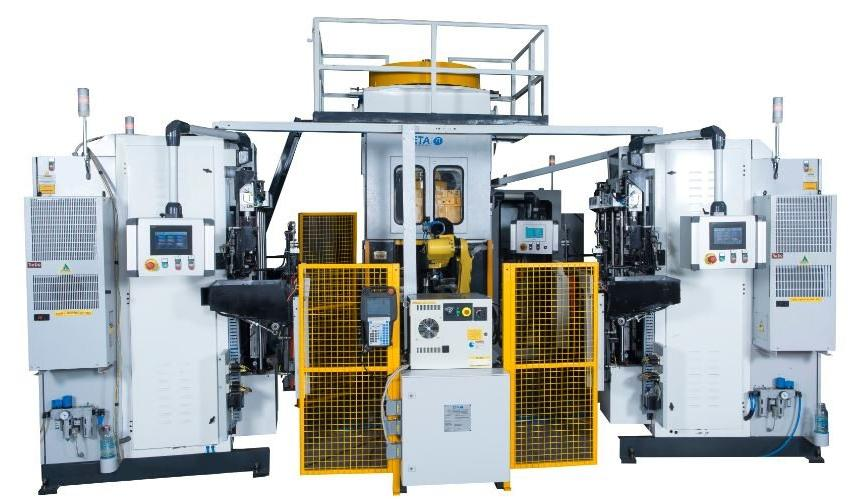 Logo Mehrstufen-Schmiedeautomat - High Speed Production Cell for Engine Val
