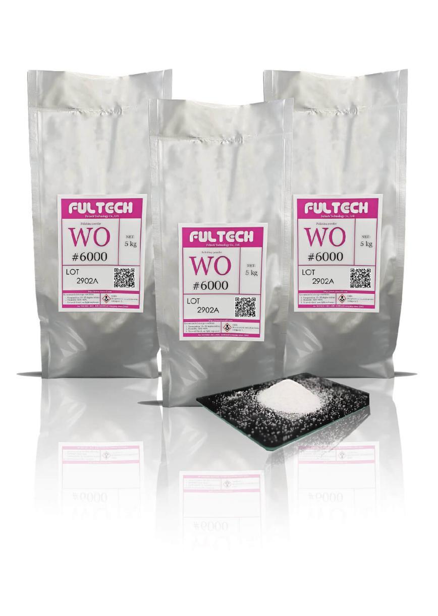 Logo Superfinishing process material - Special Polishing Powder (WO)