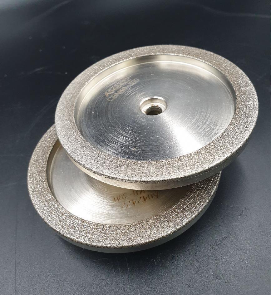 Logo Schleif- und Polierscheibe und -band - CBN dish grinding wheel