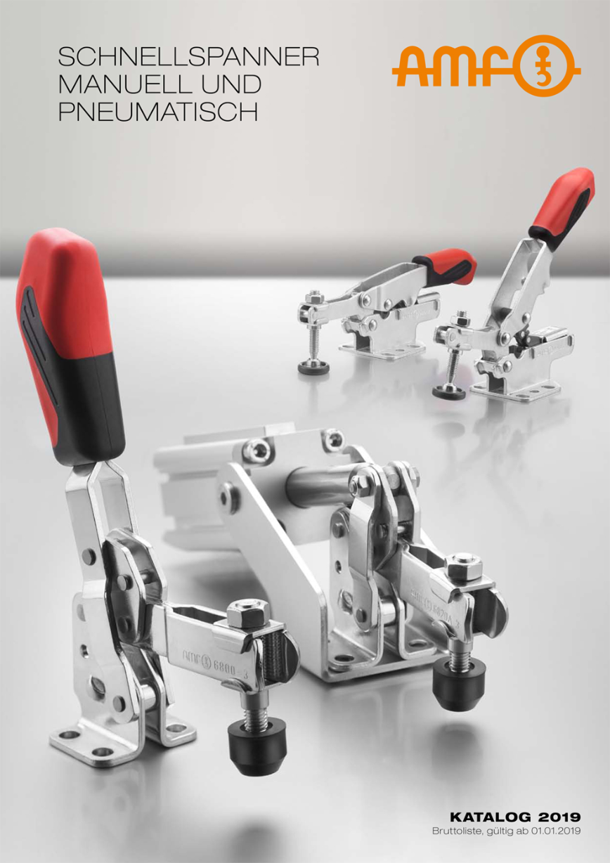 Logo Chucking system - TOGGLE CLAMPS MANUAL AND PNEUMATIC