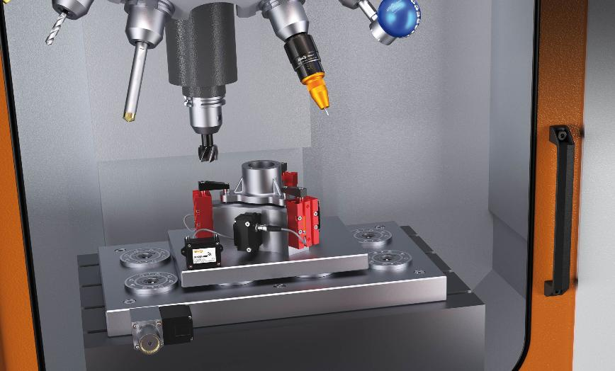 Logo Gripping tools and automatic fixtures - Wireless sensoring systems