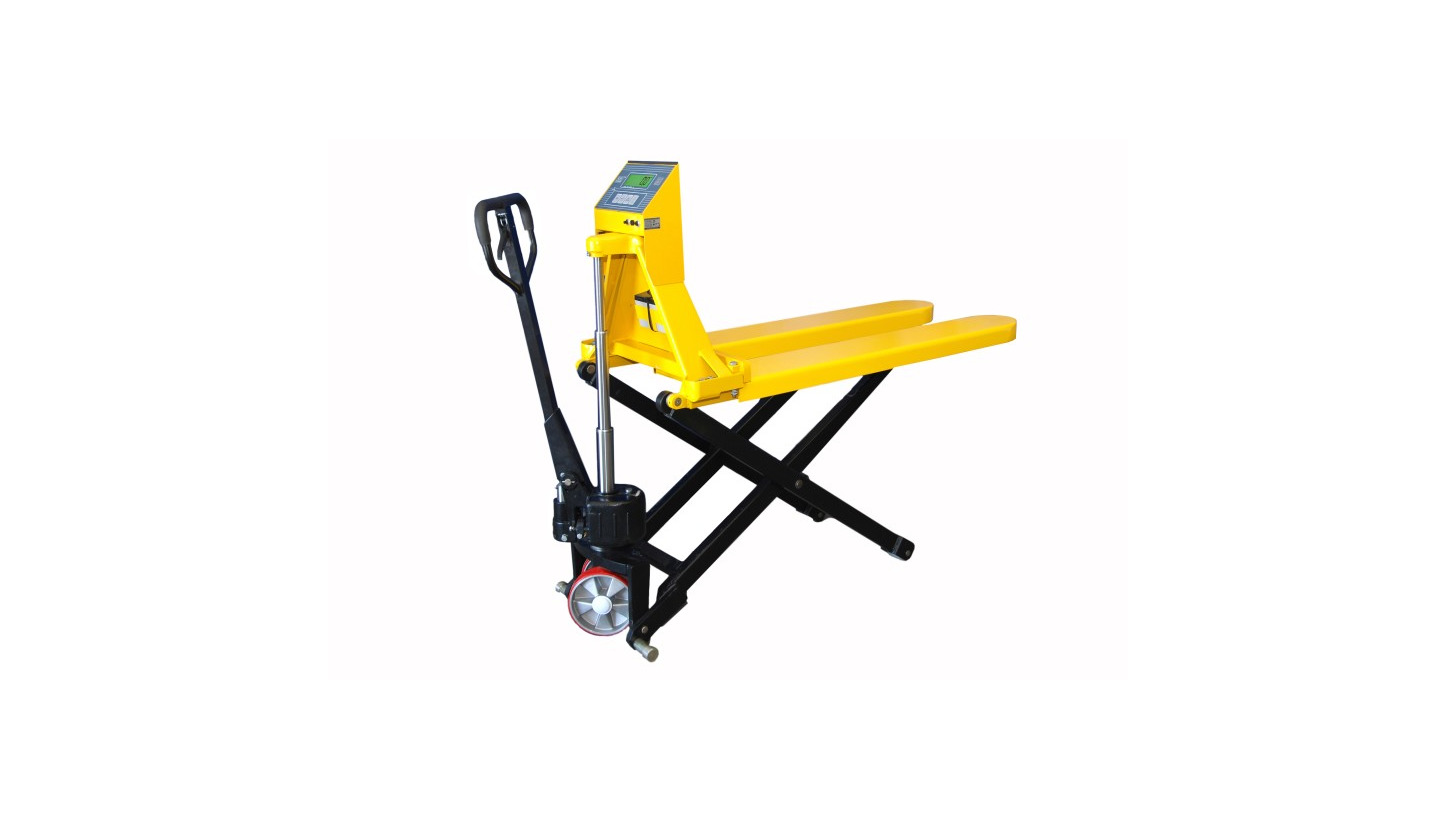 Logo High lift pallet truck KPZ 74