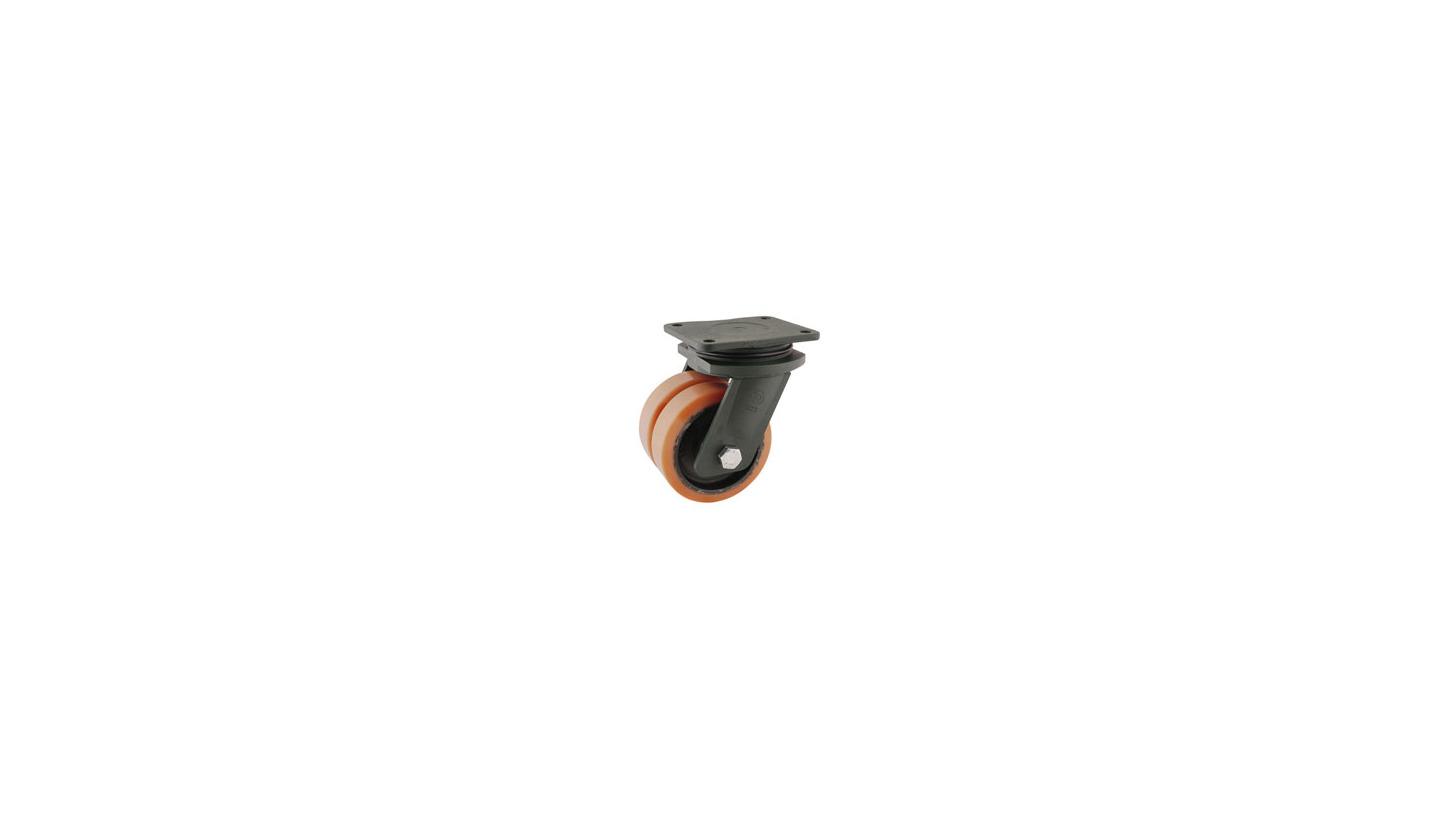 Logo Vulkollan® wheels and castors