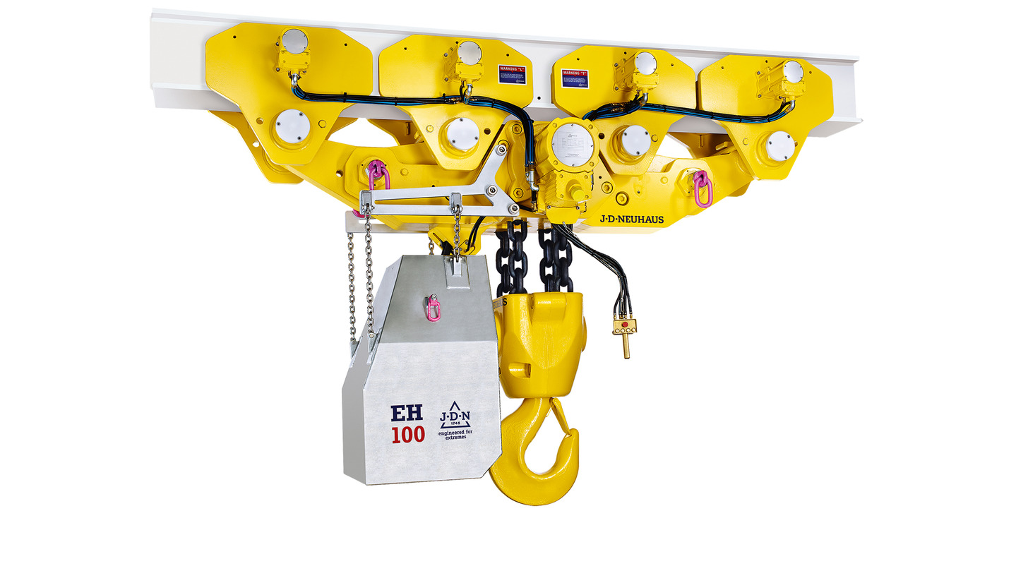 Logo JDN Monorail Air Hoists