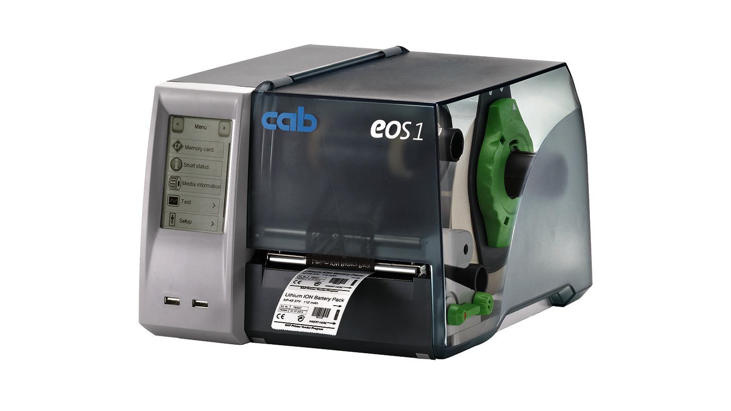 Logo Label printers EOS series