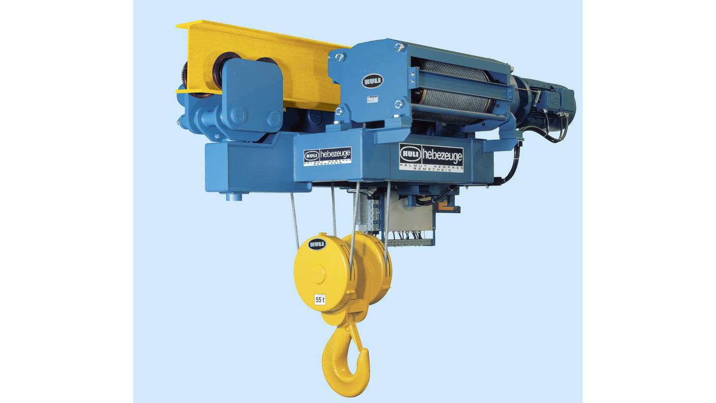KULI - electric wire rope hoists - Product - CeMAT 2018