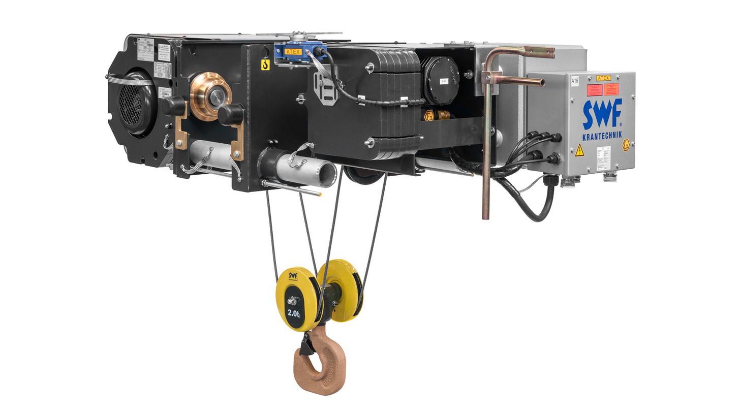 Logo Explosion-proof hoists from SWF