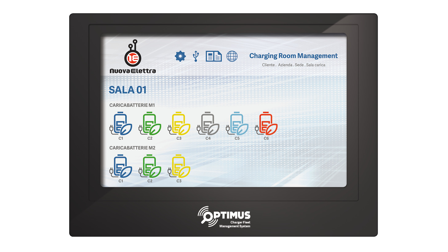 Logo OPTIMUS-CHARGER FLEET MANAGEMENT SYSTEM