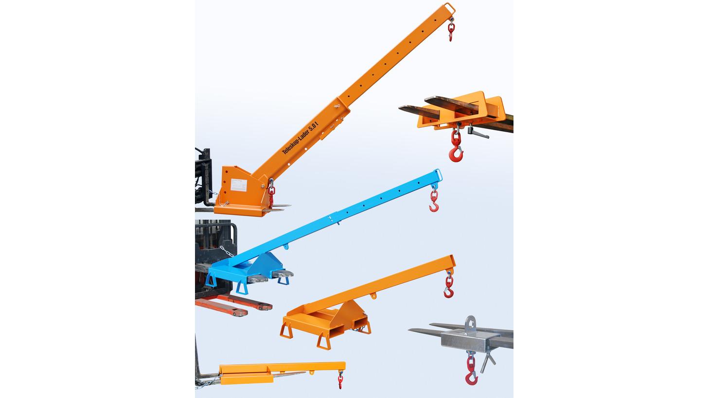 Logo Extensible crane arms - Loading arms - Crane hooks