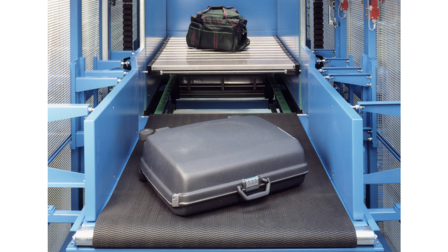 Logo S-Conveyor for Baggage Handling