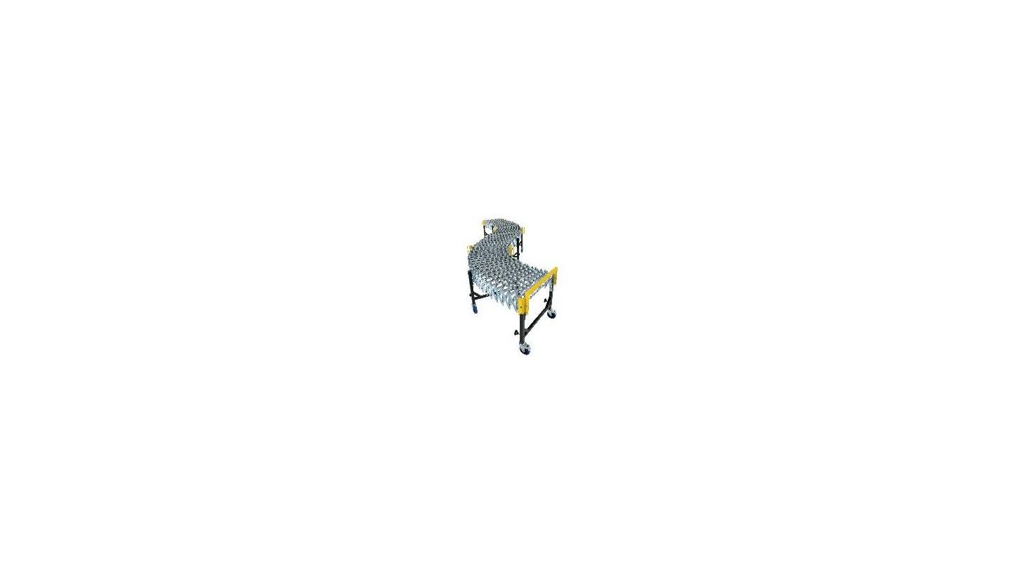 Logo UNI-FLEX Gravity Skatewheel Expandable Conveyor
