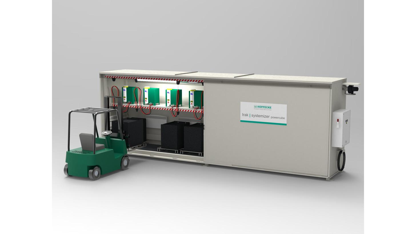 Logo HOPPECKE trak | systemizer powercube
