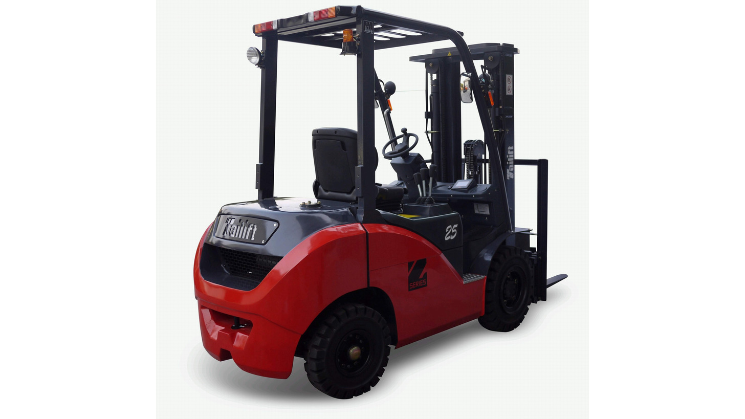 Logo Z series Tailift New I.C. Forklift Truck