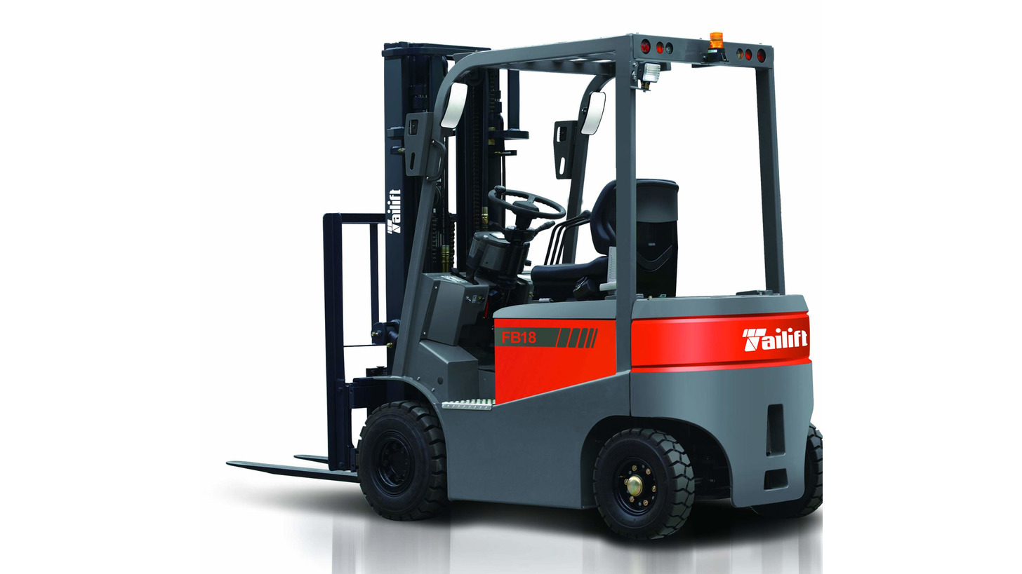 Logo 9L   four wheel electric forklift truck