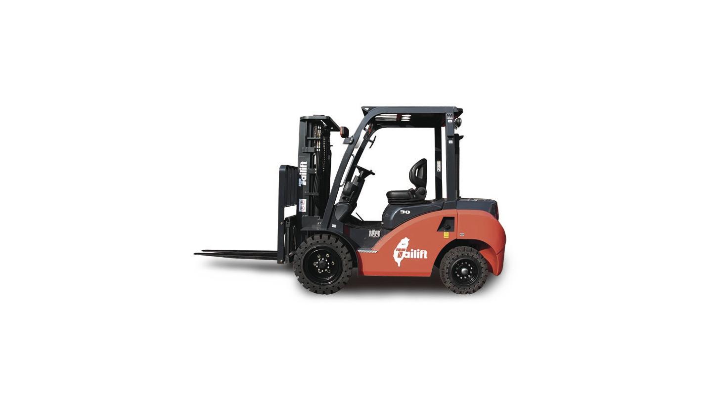 Logo Eco-Z series Tailift New I.C. Forklift T