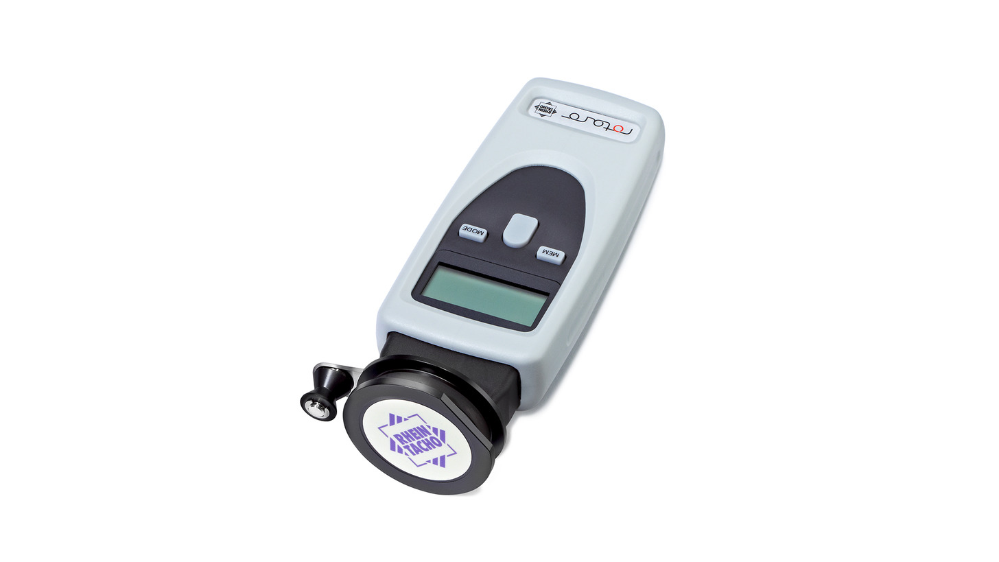 Logo Digital hand-tachometer from RHEINTACHO