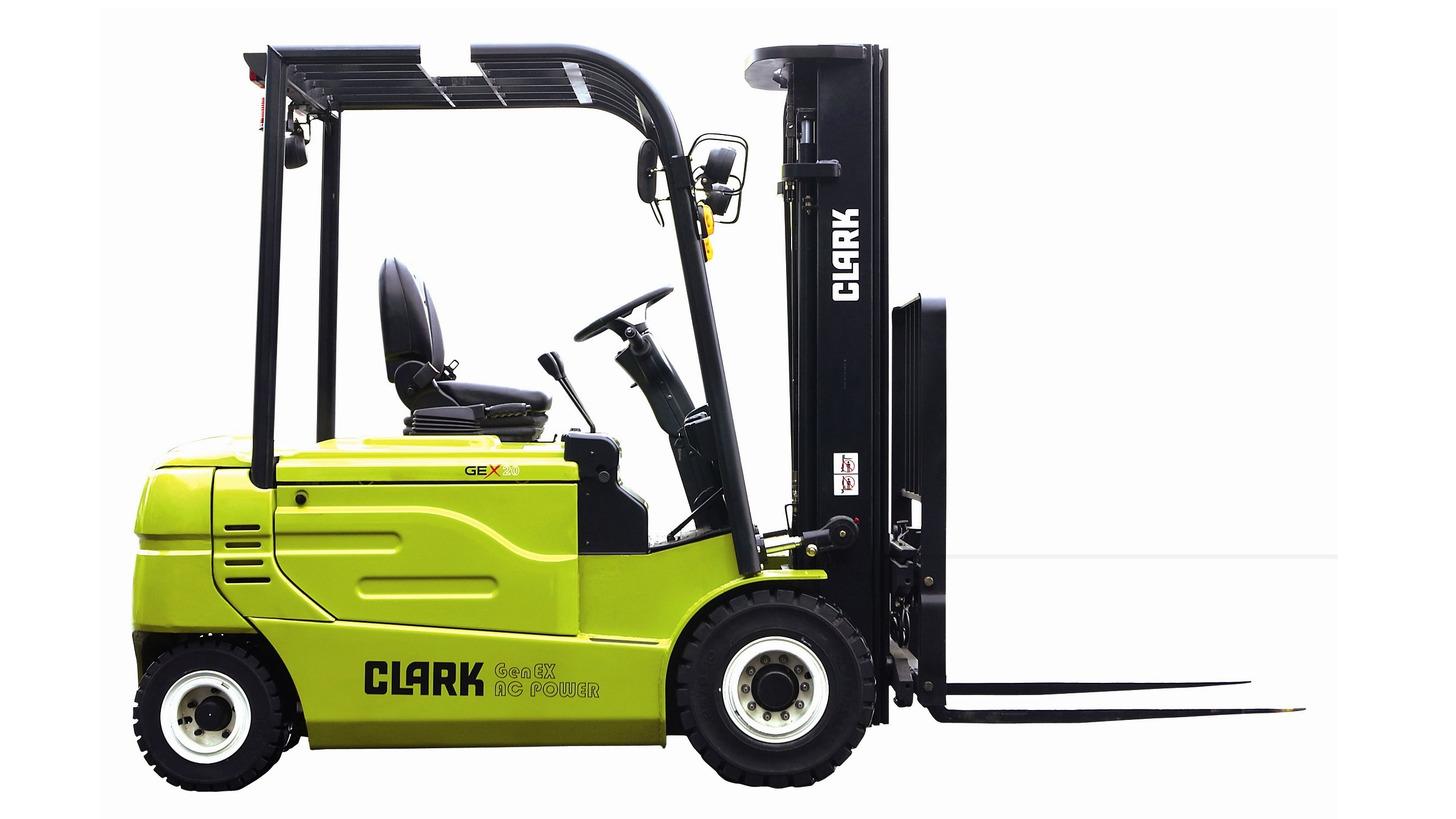 Logo CLARK Elektric Forklift GEX20-30L