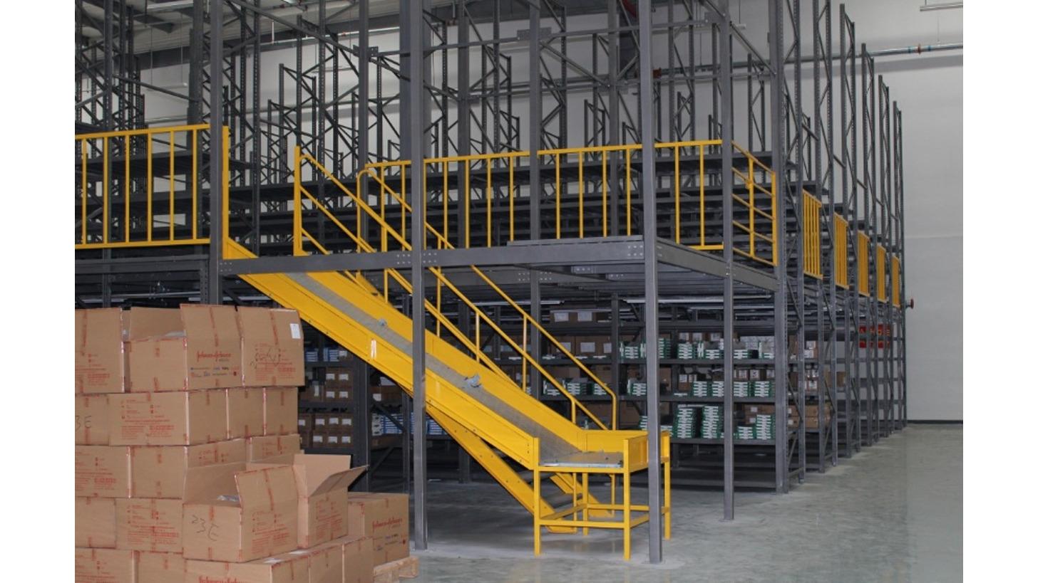 Logo Steel platform and Multi-tier Mezzanine