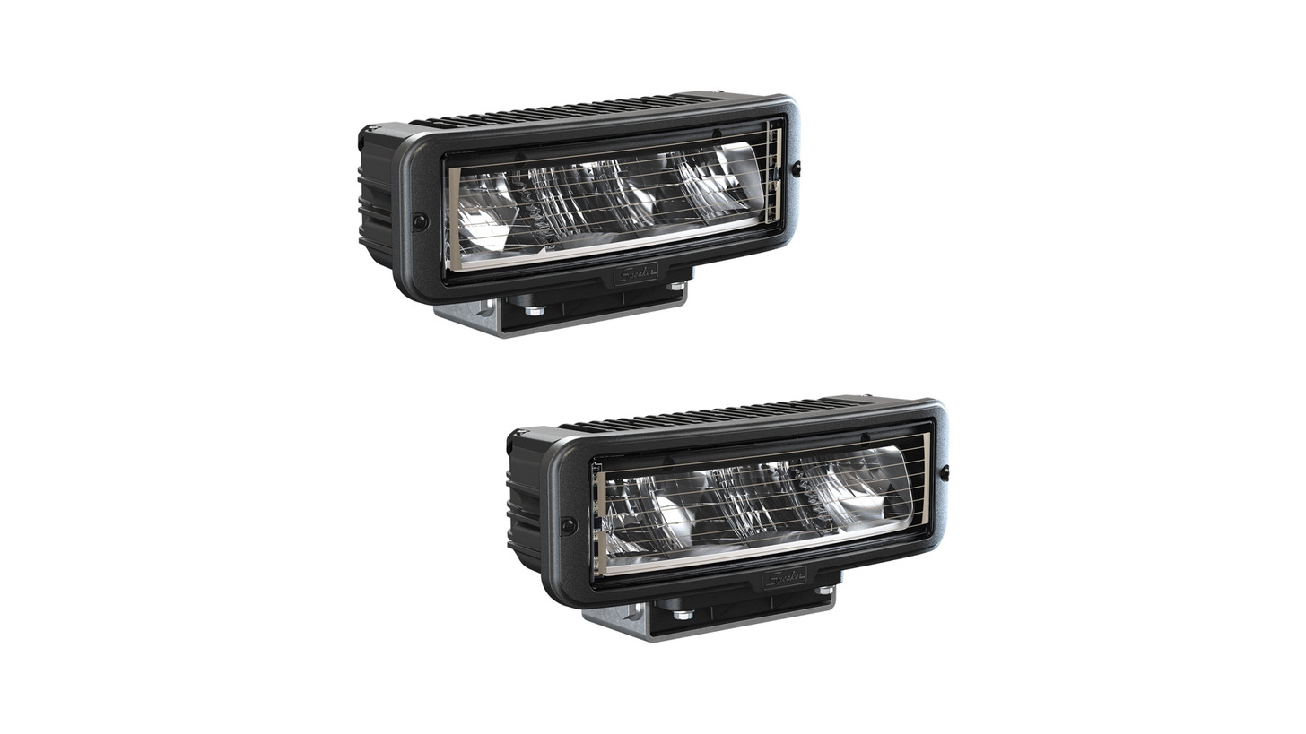 Logo LED headlight model 9800