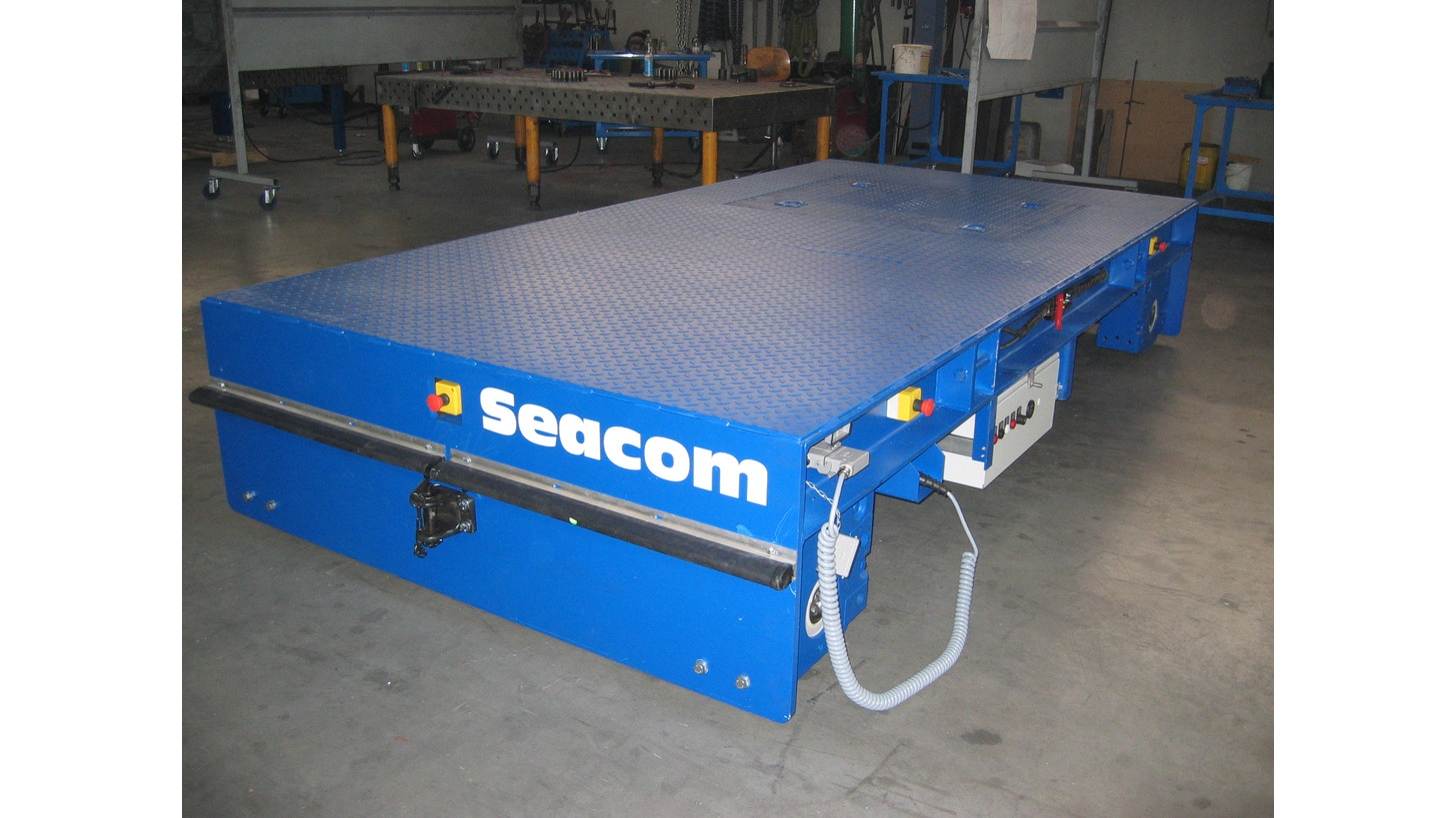 Logo SEACOM Rail Car