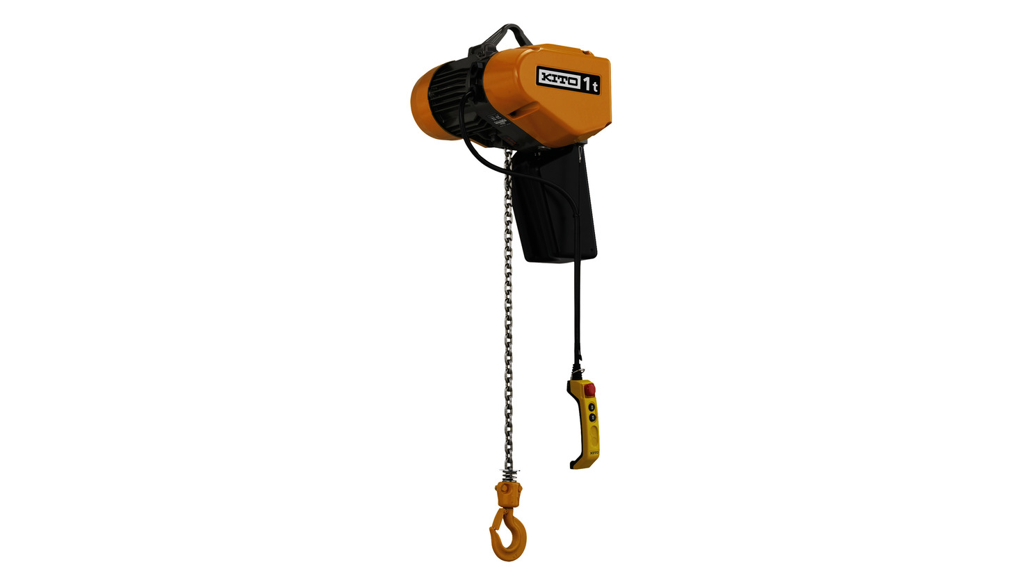 Logo KITO Electric Chain Hoist EQ