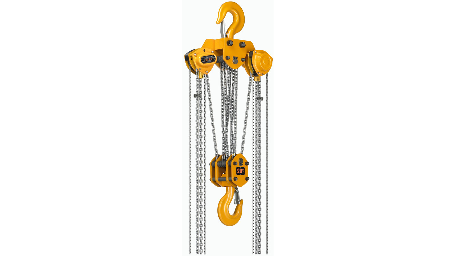 Logo KITO Manual Chain Hoist High Speed CB