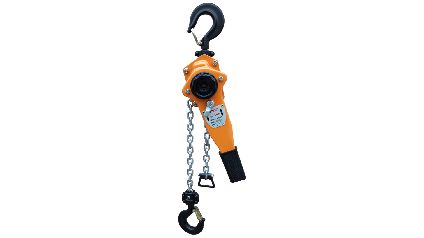 Logo Lever Hoist with Galv. chain