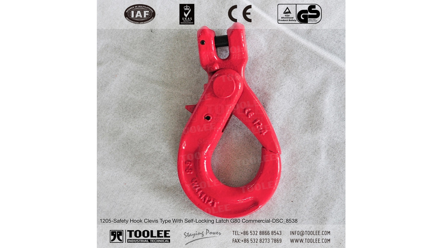 Logo G80 Safety Hook Clevis Type