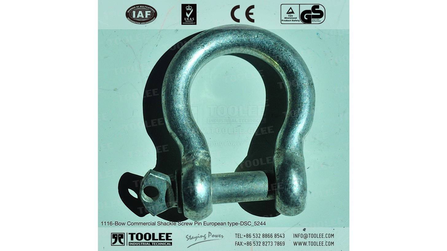 Logo Bow Shackle Screw Pin European type