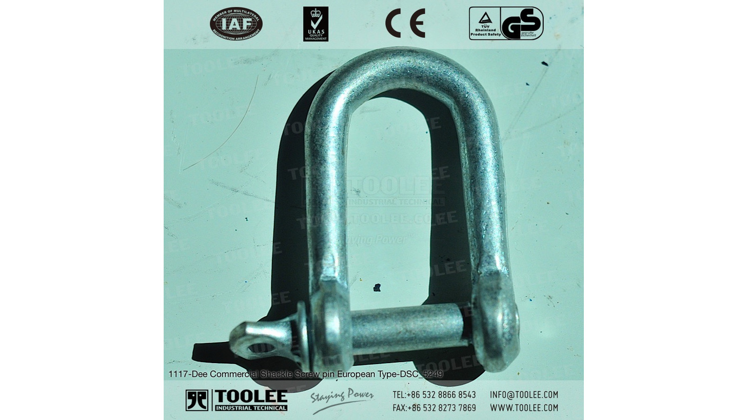 Logo Dee Shackle Screw pin European Type