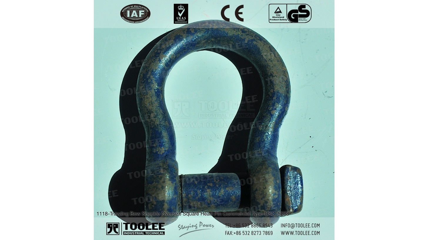 Logo Trawling Bow Shackle