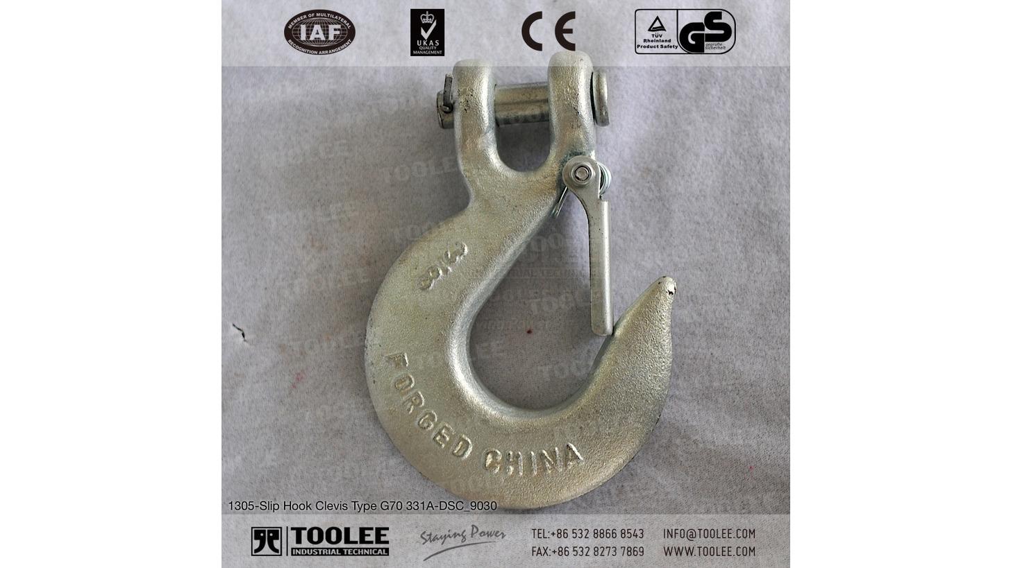 Logo Slip Hook Clevis Type G70 331A
