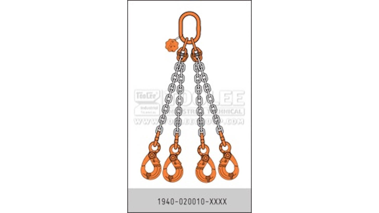 Logo G80 Chain Sling Quadruple Leg